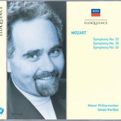 Mozart: Symphonies Nos. 33, 39 & 40 - Wiener Philharmoniker, István Kertész