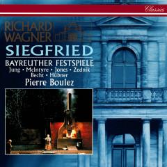 Wagner: Siegfried - Manfred Jung, Donald McIntyre, Gwyneth Jones, Heinz Zednik, Hermann Becht