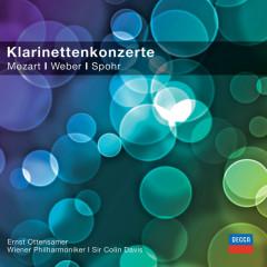 Klarinettenkonzerte - Mozart/Spohr/Weber (Classical Choice) - Ernst Ottensamer, Sir Colin Davis, Wiener Philharmoniker