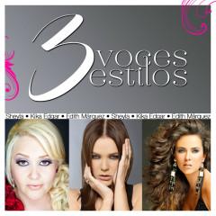 3 Voces 3 Estilos - Edith Márquez, Sheyla, Kika