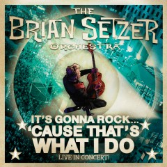 It's Gonna Rock...'Cause That's What I Do (Live) - Brian Setzer, The Brian Setzer Orchestra