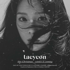 This Christmas – Winter is Coming - TAEYEON