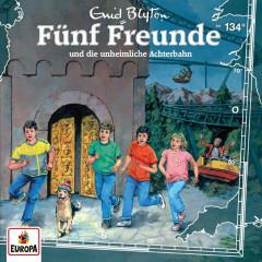 134/und die unheimliche Achterbahn - Fünf Freunde