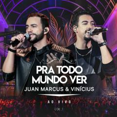 Pra Todo Mundo Ver (Ao Vivo Em São José Do Rio Preto / 2019 / Vol. 1) - Juan Marcus & Vinicius