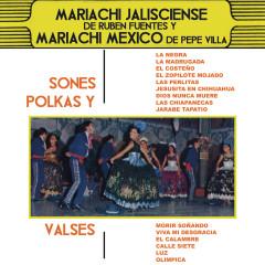 Sones, Polkas y Vals - Mariachi Jalisciense de Rubén Fuentes, Mariachi México de Pepe Villa
