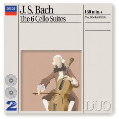 Bach, J.S.: The 6 Cello Suites - Maurice Gendron