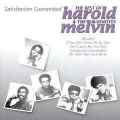 Satisfaction Guaranteed - The Best Of Harold Melvin & The Bluenotes - Harold Melvin & the Blue Notes