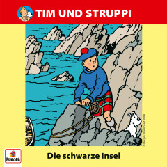 020/Die schwarze Insel - Tim & Struppi