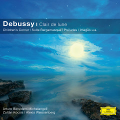Debussy: Clair De Lune (CC) - Alexis Weissenberg, Zoltán Kocsis, Arturo Benedetti Michelangeli