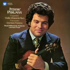 Paganini: Violin Concerto No. 1 - Sarasate: Carmen Fantasy - Itzhak Perlman