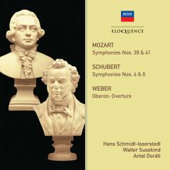 Mozart, Schubert: Symphonies - Hans Schmidt-Isserstedt, Walter Susskind