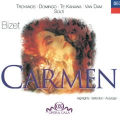 Bizet: Carmen - Highlights - Tatiana Troyanos, Placido Domingo, Kiri Te Kanawa, José van Dam, Norma Burrowes