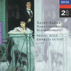 Saint-Saëns: Piano Concertos Nos. 1-5 - Pascal Roge, Charles Dutoit