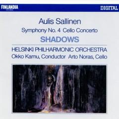 Aulis Sallinen : Shadows Op.52, Cello Concerto Op.44, Symphony No.4 - Helsinki Philharmonic Orchestra