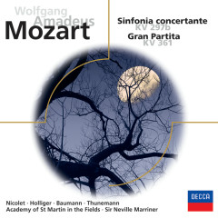 Mozart: Sinfonia concertante / Serenade Nr.10