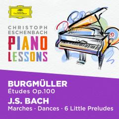 Piano Lessons - Burgmüller: 25 Etudes Op. 100; Bach, J.S.: Six little Preludes, BWV 933-938, Various Piano Pieces - Christoph Eschenbach