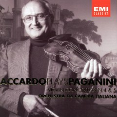 Accardo Plays Paganini - Vol. 3 - Salvatore Accardo