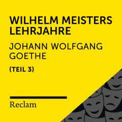 Goethe: Wilhelm Meisters Lehrjahre, III. Teil (Reclam Hörbuch) - Reclam Hörbücher, Heiko Ruprecht, Johann Wolfgang von Goethe