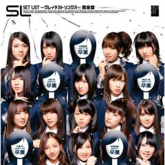 SET LIST - Greatest Songs (Kanzenban) - AKB48