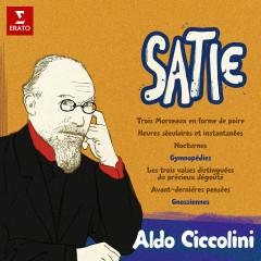 Satie: Morceaux en forme de poire, Gymnopédies, Avant-dernìeres penseés, Gnossiennes... - Aldo Ciccolini