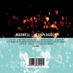 MAXWELL MTV UNPLUGGED - Maxwell