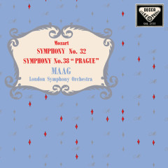 Mozart: Symphonies Nos. 32, 38; Clarinet Concerto - Peter Maag
