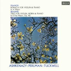 Franck: Violin Sonata / Brahms: Horn Trio - Itzhak Perlman, Vladimir Ashkenazy, Barry Tuckwell
