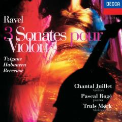 Ravel: 3 Sonatas, Tzigane, Habanera, Berceuse etc - Chantal Juillet, Truls Mörk, Pascal Roge