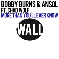 More Than You'll Ever Know (feat. Chad Wolf) - Bobby Burns, Ansol, Chad Wolf