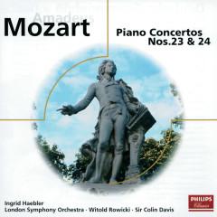 Mozart: Piano Concertos Nos.23 & 24; Rondos - Ingrid Haebler, London Symphony Orchestra, Alceo Galliera, Sir Colin Davis, Witold Rowicki