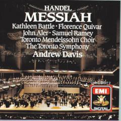 Messiah - Handel - Sir Andrew Davis, Toronto Mendelssohn Choir, Elmer Iseler Singers, Florence Quivar, John Aler