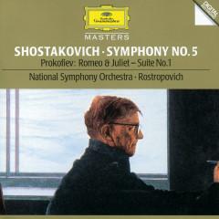 Shostakovich: Symphony No.5 / Prokofiev: Romeo And Juliet - Suite No.1 - National Symphony Orchestra Washington, Mstislav Rostropovich