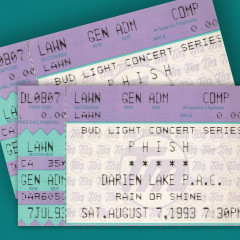 8/7/93 Darien Lake Performing Arts Center, Darien Center, NY (Live) - Phish