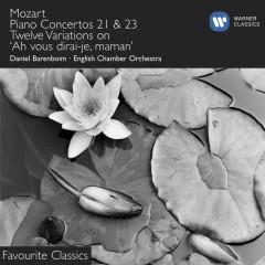 Mozart: Piano Concertos Nos. 21 & 23 - Daniel Barenboim, English Chamber Orchestra