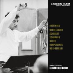 Overtures: Mendelssohn - Schubert - Schumann - von Weber - Humperdinck - Wolf-Ferrari - Leonard Bernstein