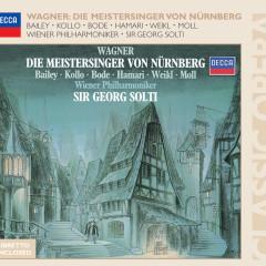 Wagner: Die Meistersinger Von Nurnberg - Norman Bailey, Bernd Weikl, René Kollo, Hannelore Bode, Wiener Philharmoniker