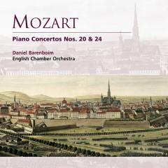 Mozart: Piano Concertos Nos. 20 & 24 - Daniel Barenboim, English Chamber Orchestra