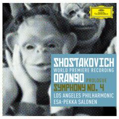 Shostakovich: Prologue to 'Orango'; Symphony No.4