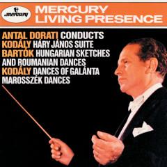 Kodály: Háry János Suite; Dances of Galanta / Bartók: Hungarian Sketches; Roumanian Folk Dances