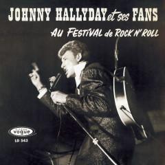 Johnny Hallyday et ses fans au festival de rock 'n' roll