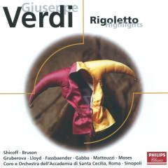 Verdi: Rigoletto - highlights - Neil Shicoff, Renato Bruson, Edita Gruberova, Brigitte Fassbaender, William Matteuzzi