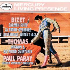 Bizet: Carmen Suite/La Patrie Overture/L'arlésienne Suite Thomas: Mignon & Raymond Overtures - Detroit Symphony Orchestra, Paul Paray