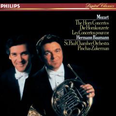 Mozart: The Horn Concertos - Hermann Baumann, St. Paul Chamber Orchestra, Pinchas Zukerman