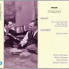 Mozart: Four Flute Quartets; Oboe Quartet; Clarinet Quintet; Schubert: String Quintet - Arthur Grumiaux, William Bennett, Pierre Pierlot, George Pieterson