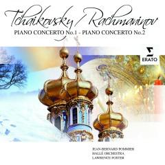 Tchaikovsky/Rachmaninov: Piano Concertos - Jean-Bernard Pommier, Hallé Orchestra, Lawrence Foster