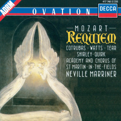 Mozart: Requiem - Ileana Cotrubas, Helen Watts, Robert Tear, John Shirley-Quirk, Academy of St. Martin  in  the Fields Chorus