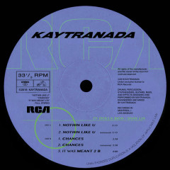 NOTHIN LIKE U / CHANCES (EP) - Kaytranada
