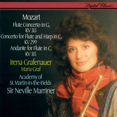Mozart: Flute Concerto No. 1; Concerto For Flute & Harp - Irena Grafenauer, Maria Graf, Academy of St. Martin in the Fields, Sir Neville Marriner