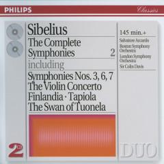Sibelius: The Complete Symphonies, etc., Vol.2 - Salvatore Accardo, Boston Symphony Orchestra, London Symphony Orchestra, Sir Colin Davis