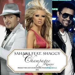Champagne (feat. Shaggy) [Remixes] - Sahara, Shaggy
